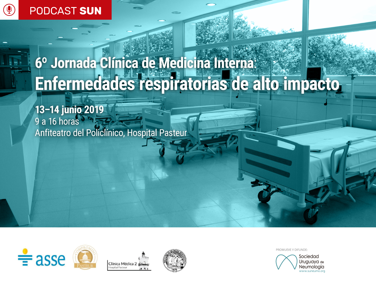 Podcast: 6ta Jornada Clínica de Medicina Interna. Enfermedades respiratorias de alto impacto