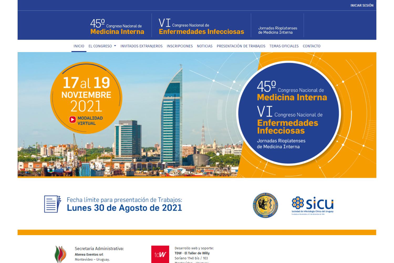 45º Congreso Nacional de Medicina Interna - VI Congreso Nacional de Enfermedades Infecciosas